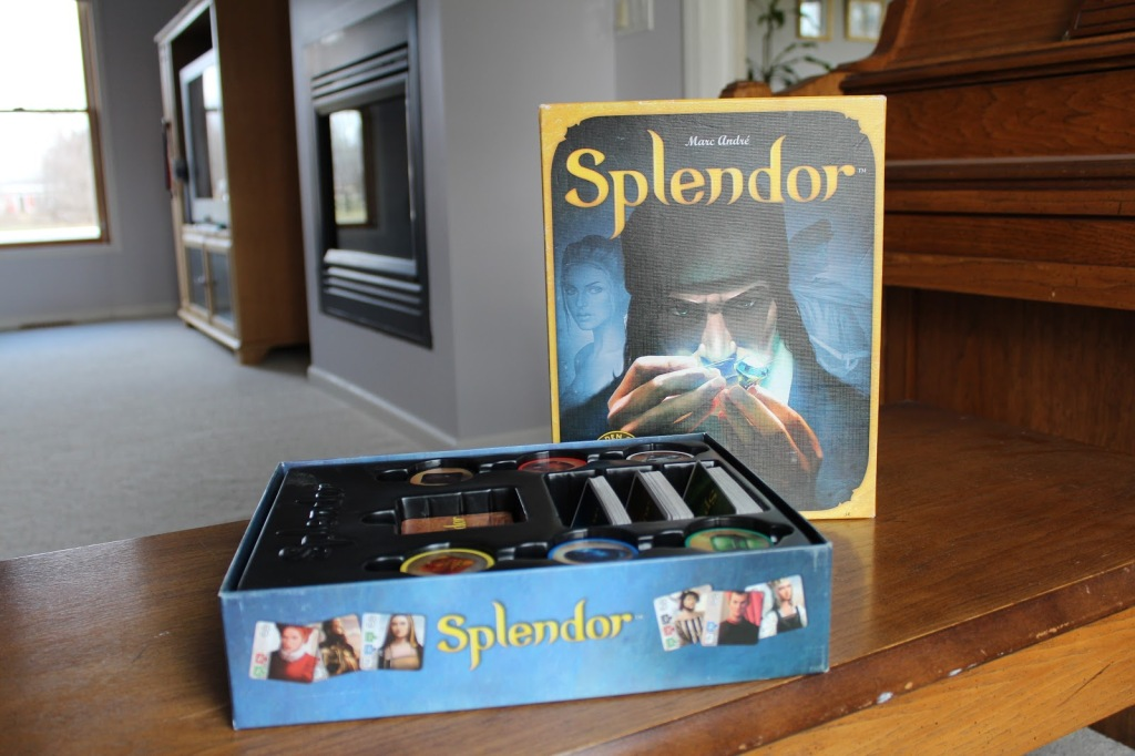 Box art of splendor
